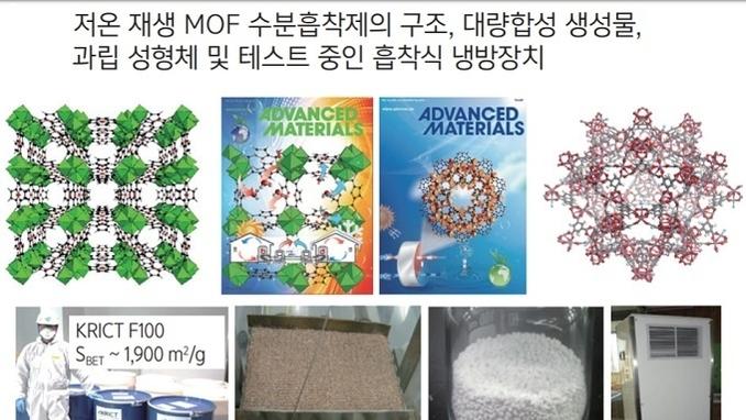 한국형 흡착식 냉동기, 올 하반기 출시