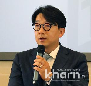총무부회장으로 선출된 김학건 친환경계획그룹청연 대표.