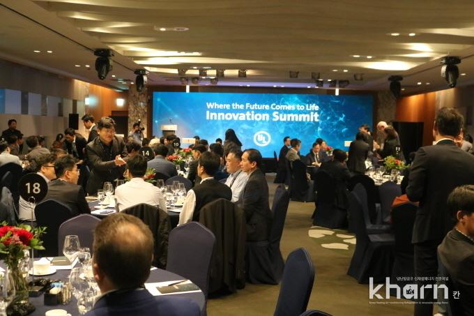 UL이 주관하는 이노베이션 서밋 행사가 10월18일 코엑스 인터콘티넨탈 호텔에서 열렸다.